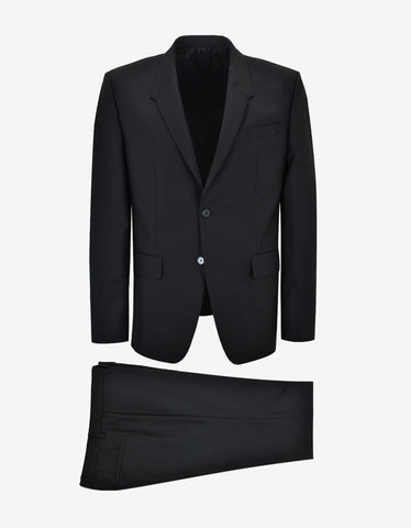 Givenchy Black Madonna Lapel Suit