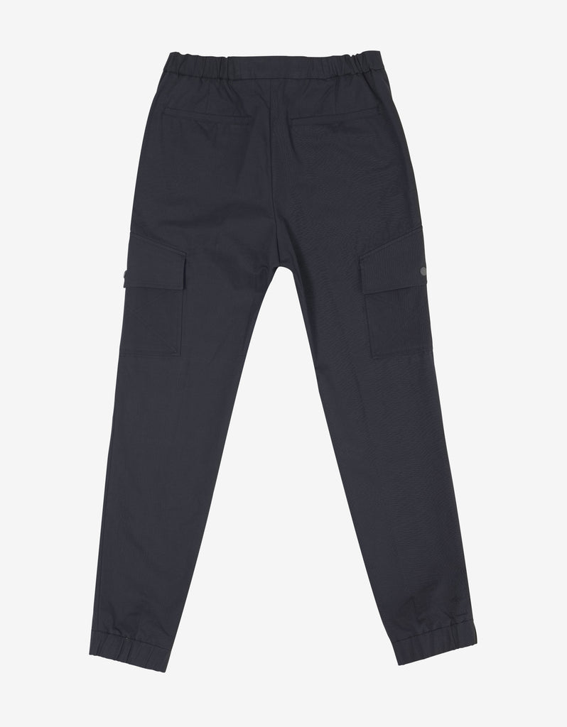Navy Blue Cargo Trousers