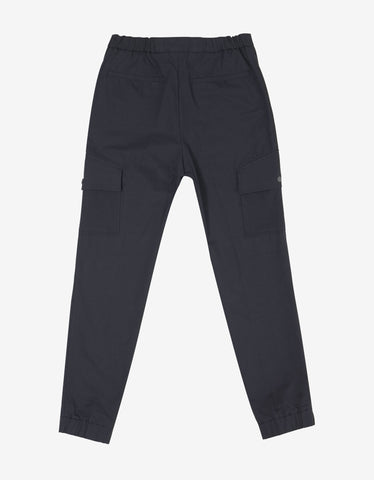Kenzo Navy Blue Cargo Trousers