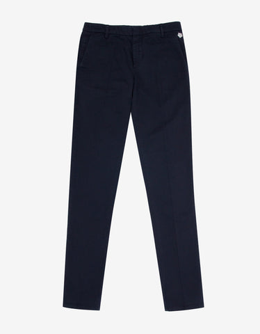 Kenzo Navy Blue Chino Trousers