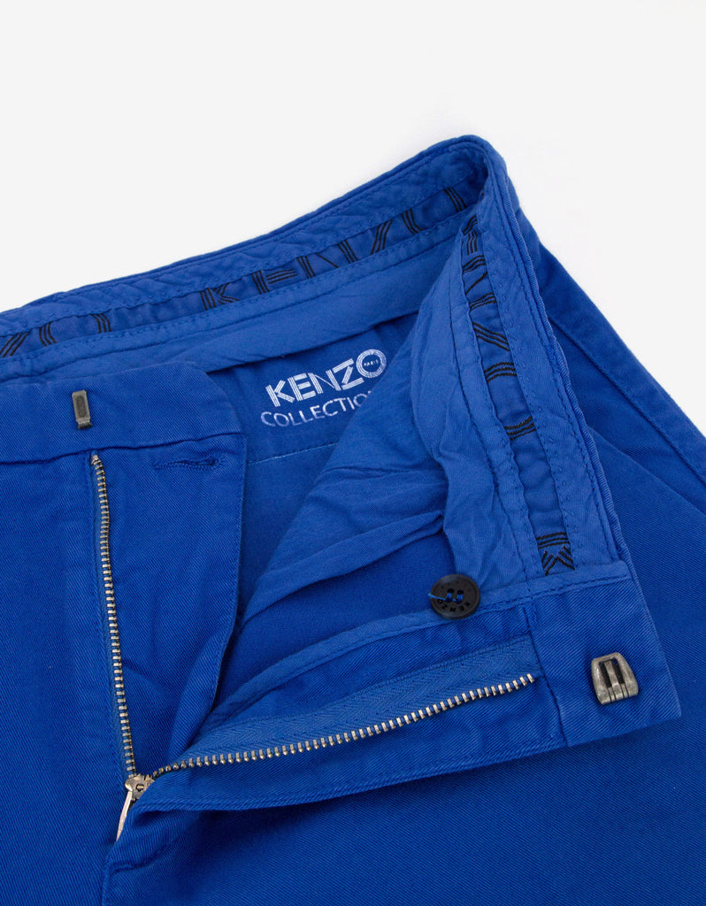 Blue Chino Trousers