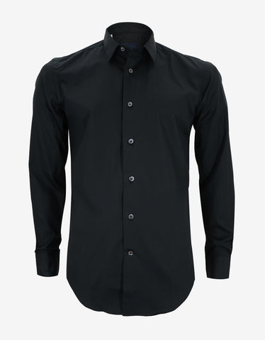 Lanvin Slim Fit Black Shirt