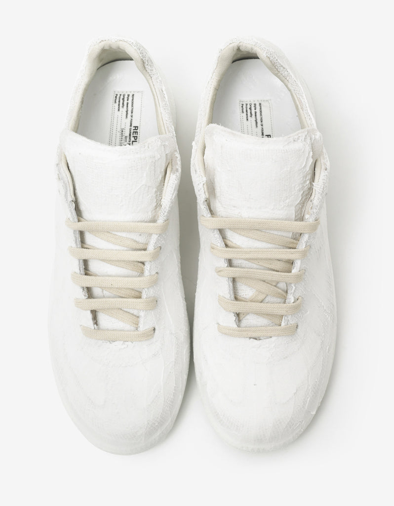 Replica White Papier-Mâché Trainers
