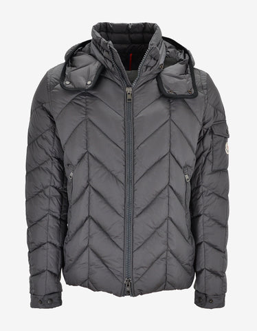 Moncler Berriat Grey Down Jacket