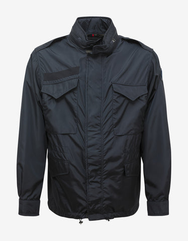 Moncler Danick Blue Nylon Field Jacket