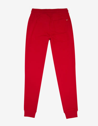 Moncler Red Sweat Pants