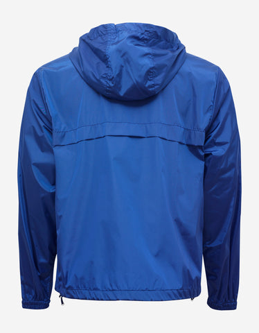 Moncler Fayence Blue Nylon Windbreaker