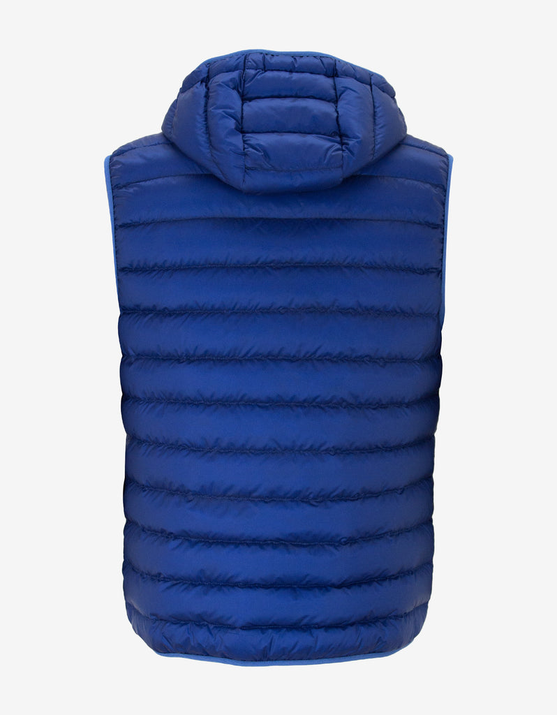 Morellet Blue Down Gilet