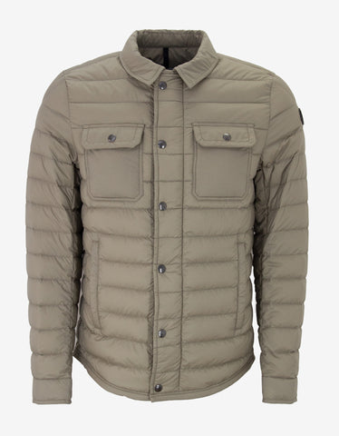 Moncler Andy Beige Lightweight Down Jacket