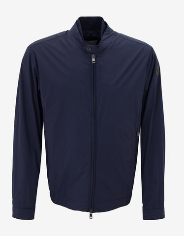 Moncler Vence Navy Blue Lightweight Jacket