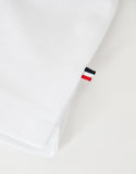 White All-Over Logo Polo T-Shirt