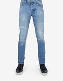 Iggy Skinny 'Polaroid Kid' Distressed Denim Jeans