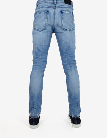 Neuw Iggy Skinny 'Polaroid Kid' Distressed Denim Jeans