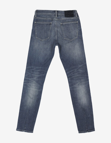 Neuw Iggy Skinny 'Fraktion Air Wash' Blue Jeans