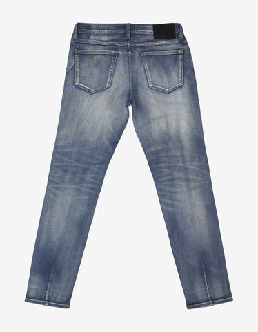 Neuw Iggy Skinny 'Union Air Wash' Denim Jeans