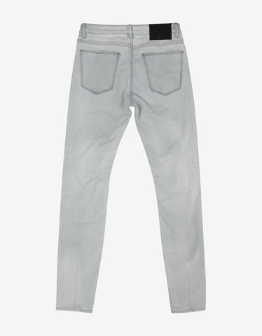 Neuw Iggy Skinny 'White Void' Distressed Jeans