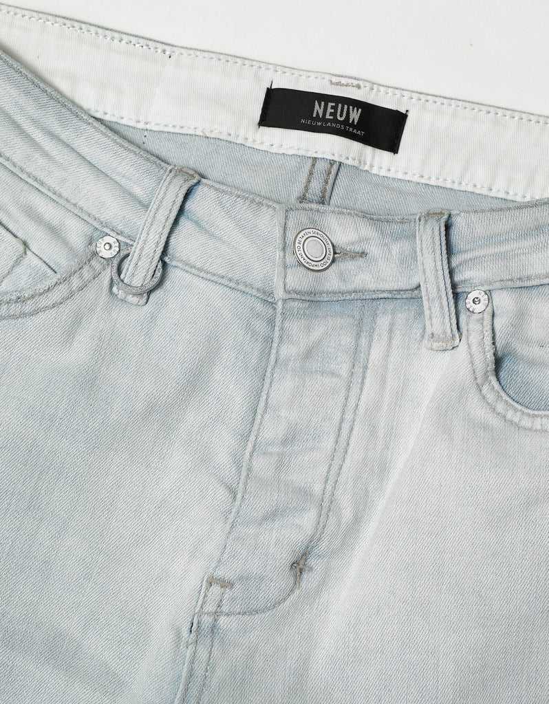 Iggy Skinny 'White Void' Distressed Jeans