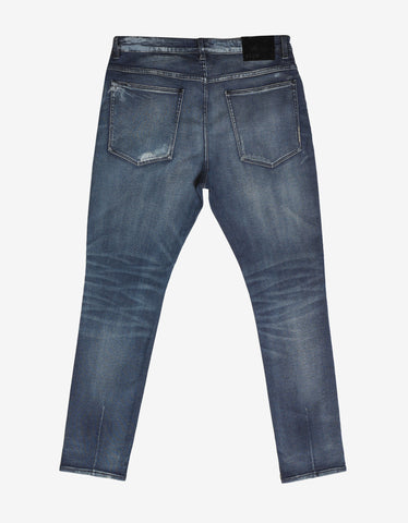 Neuw Ray Tapered 'Escape' Distressed Jeans