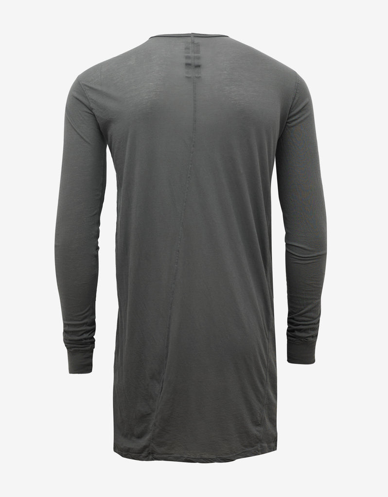 Darkdust Grey Geo Long Sleeve T-Shirt