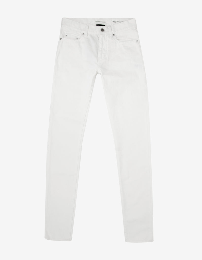 White D02 Slim Denim Jeans