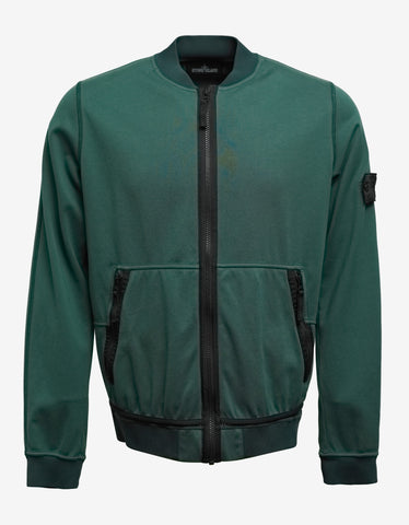 Stone Island Shadow Project Jersey-R 3L Green Bomber Jacket