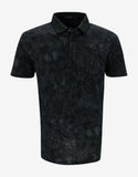 Black Camubutterfly Polo T-Shirt