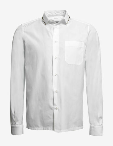 Valentino Rockstud Untitled White Shirt