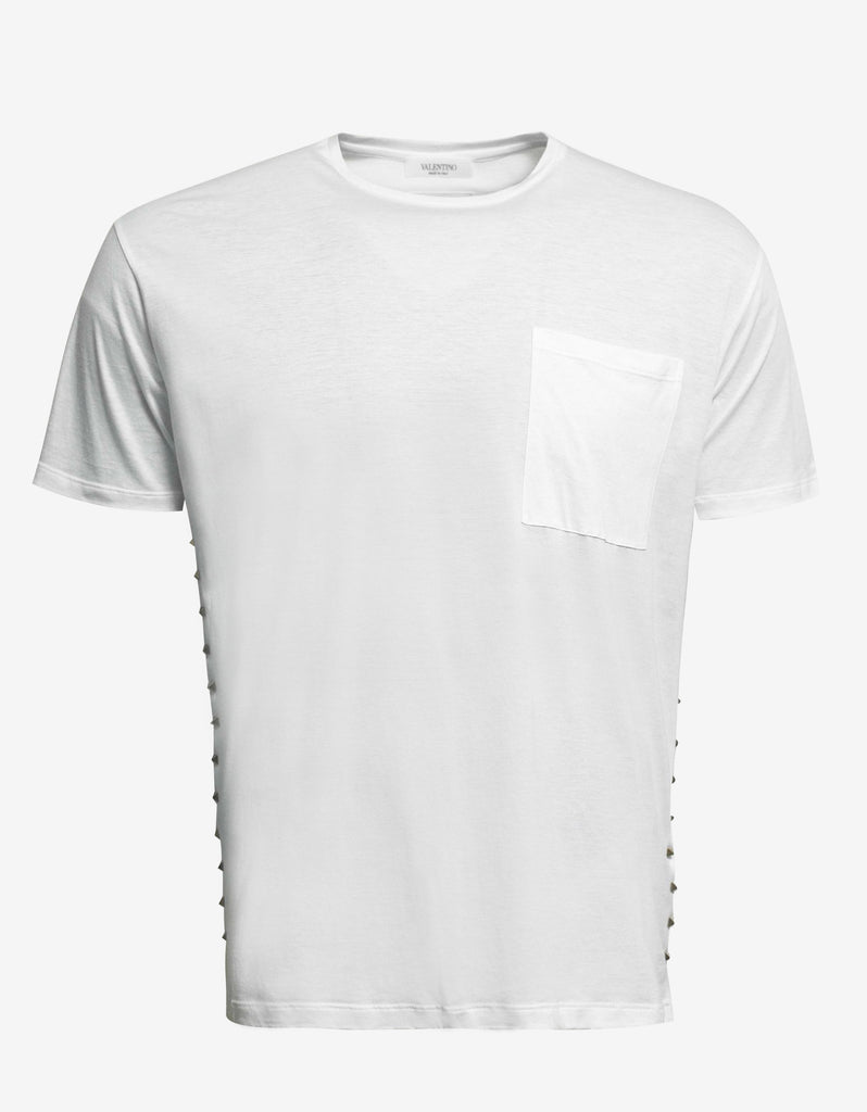 Rockstud Untitled White T-Shirt