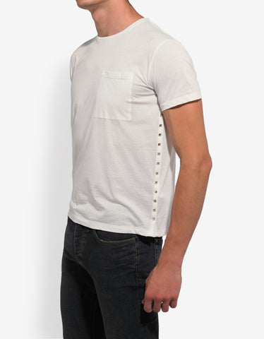 Valentino Rockstud Untitled White T-Shirt