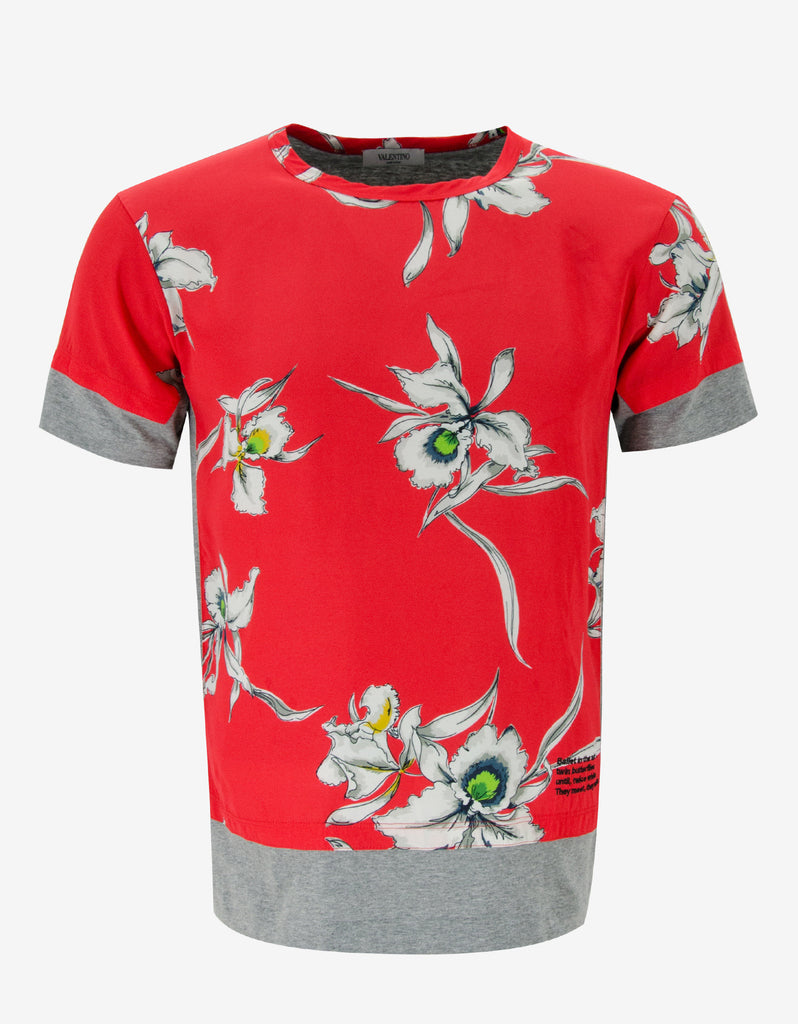 Hawaii Orchid Print T-Shirt
