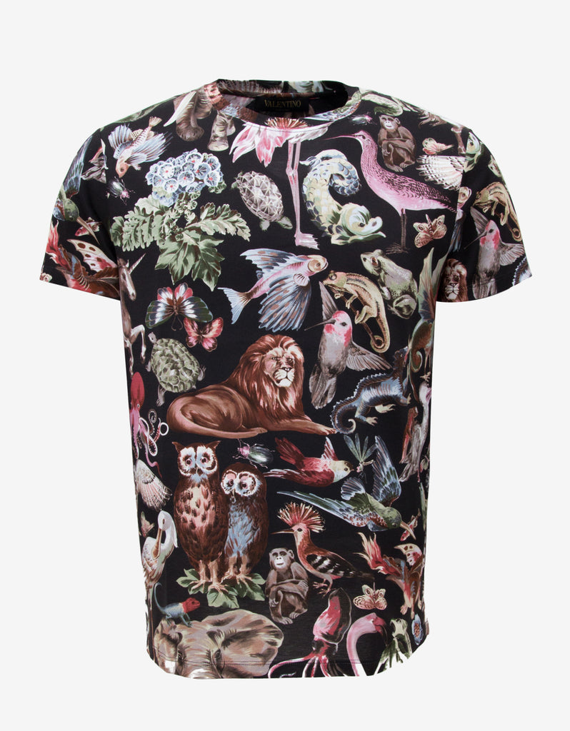 Fantastic Animals Print T-Shirt