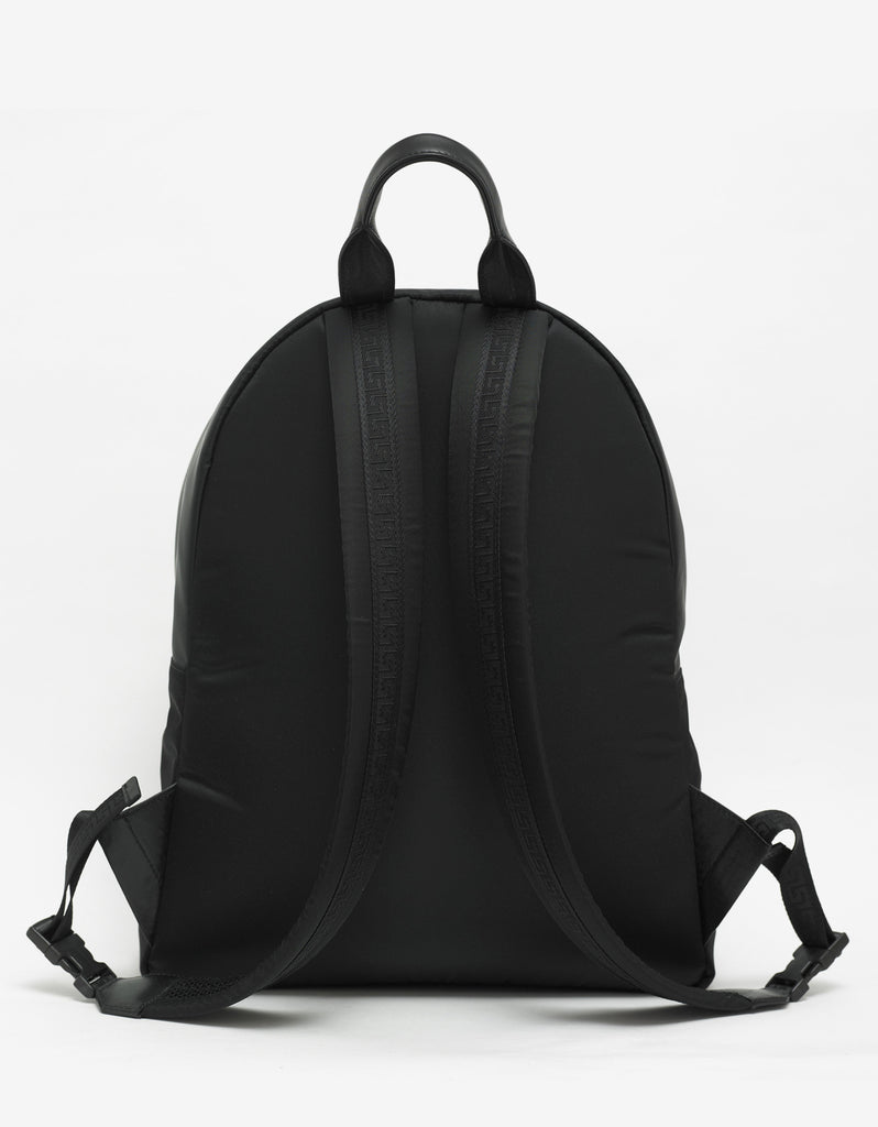 Black Medusa Head Nylon Backpack