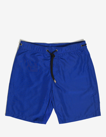 Versace Royal Blue Swim Shorts