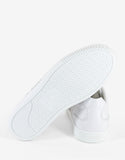 White Medusa Perforated Trainers