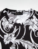 Monochrome Watercolour Baroque T-Shirt