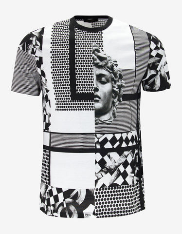 Versace Chess Machine Graphic T-Shirt