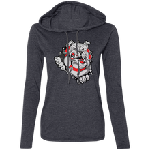 Load image into Gallery viewer, Lady Bulldogs Ladies' LS T-Shirt Hoodie