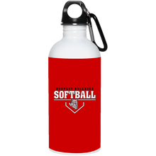 Load image into Gallery viewer, Lady Bulldogs Plate Logo 20 oz. Stainless Steel Water Bottle