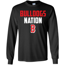 Load image into Gallery viewer, Bulldogs Nation  Youth LS T-Shirt