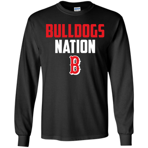 Bulldogs Nation  Youth LS T-Shirt