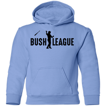 Load image into Gallery viewer, Bush League Bat Flip Youth Pullover Hoodie
