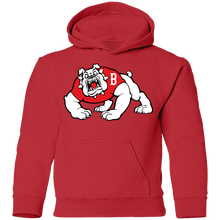 Load image into Gallery viewer, Bulldogs Logo  Youth Pullover Hoodie