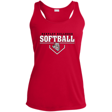 Load image into Gallery viewer, Lady Bulldogs Plate Logo Ladies' Racerback Moisture Wicking Tank