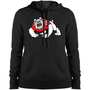 Bulldog Ladies' Pullover Hooded Sweatshirt