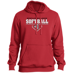 Lady Bulldogs Plate Logo Tall Pullover Hoodie