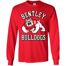 Load image into Gallery viewer, Bulldog Full Logo Youth LS T-Shirt