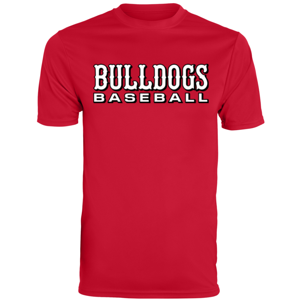 Bulldogs Baseball Men's Wicking T-Shirt