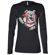 Load image into Gallery viewer, Lady Bulldogs Ladies' Jersey LS Missy Fit