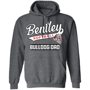 Lady Bulldogs Dad Pullover Hoodie 8 oz.