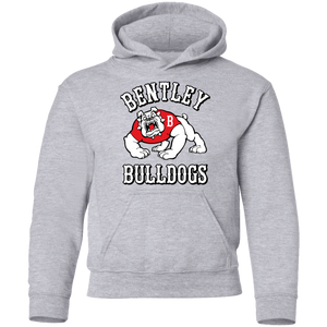 Bulldogs Full Logo  Youth Pullover Hoodie